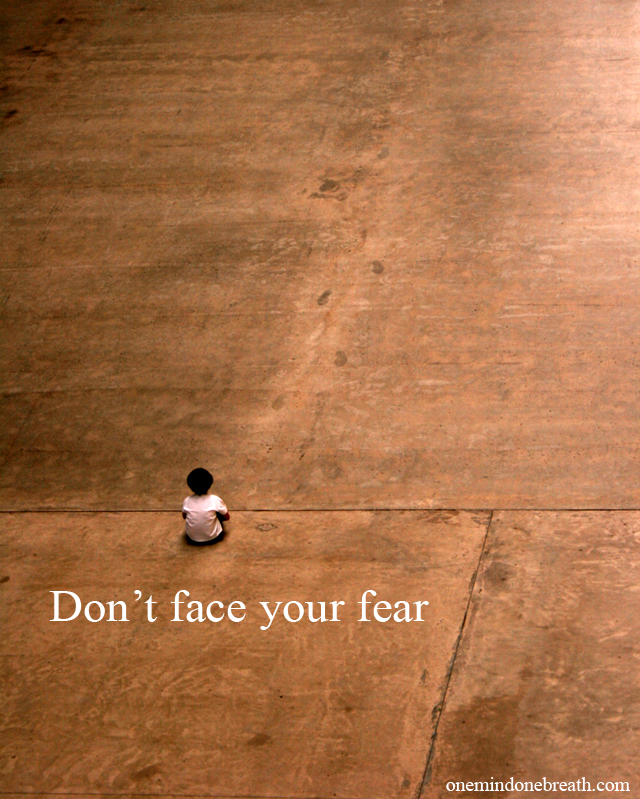 fear-dont face