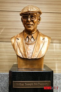 Dr. Arthur J McTaggart statue