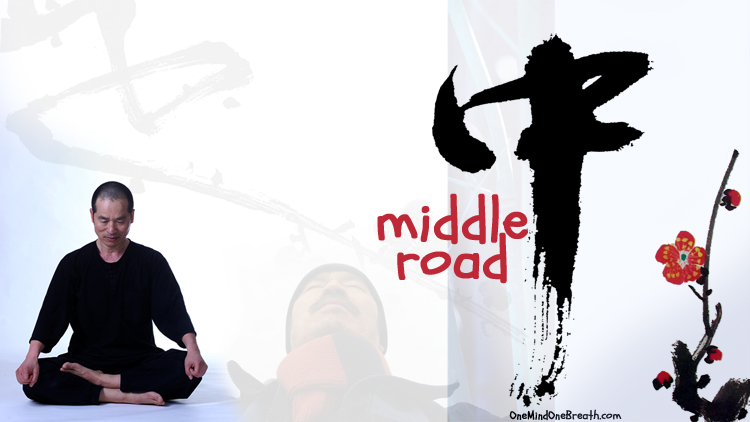 Sang H. Kim Meditates on His Riddle on the Meaning of Middle Road.