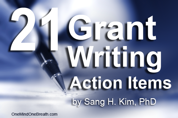 Grant writing can be challenging and often intimidating, But having your original vision communicated and keeping the writing funder-focused, your chances of getting funding for your research increase significantly.