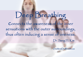 MBX-12 Deep Breathing Connects Senses to Oneness