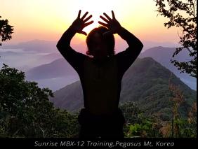 MBX-12 Training at Pegasus Mt Korea